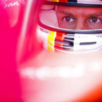 Engine trouble cuts short Friday morning running for Vettel