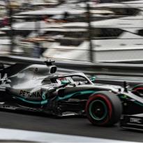 Dit is de startopstelling voor de Grand Prix van Monaco