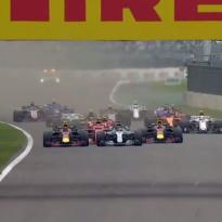 VIDEO: Hamilton, Verstappen trade lead in epic Mexico start!