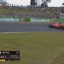 VIDEO: Vettel spins in Suzuka qualifying!