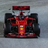 Vettel: Ferrari aren't 'back'