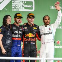 """Verstappen ziet titelkansen na GP Brazilië stijgen: """"Erg veelbelovend"""""""