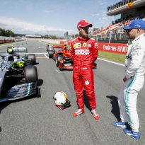 Vettel eyes Mercedes payback in Spain after qualifying thrashing