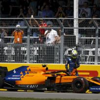 McLaren explain Norris' bizarre Canada DNF