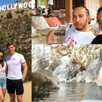 A wedding, cycling and lots of sun: What F1 drivers have been up to in the summer break