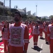 IN BEELD: Driver's parade in Baku