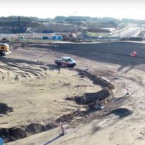 IN BEELD: Drone en animaties brengen verbouwingen Zandvoort in kaart