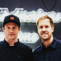 Raikkonen bids farewell to Vettel