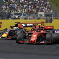 Verstappen: Leclerc fight good for F1