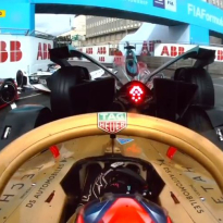 VIDEO: Crazy 10-car pile-up in Formula E Rome race
