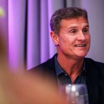"""Coulthard zin in Zandvoort: """"Altijd op m'n gemak rond Nederlanders"""""""