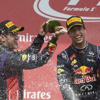"""Ricciardo blikt terug: """"Teamgenoot zijn van Vettel was gemakkelijk"""""""
