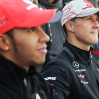 Hamilton chasing Schumacher title record 'one step at a time'