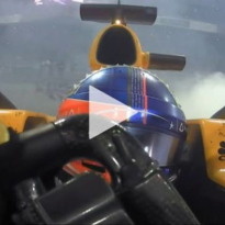 VIDEO: Hamilton, Vettel, Alonso see out 2018 with donuts!