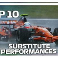 Tien meest bizarre invalbeurten in de Formule 1