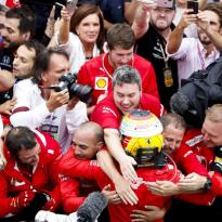 """Tóch nog een tweede plaats voor Vettel: """"Het was een lange race"""""""