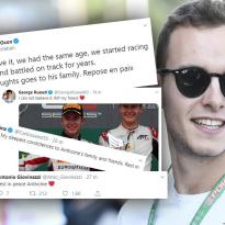 Le monde de la F1 rend hommage à Hubert