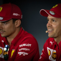 Vettel reveals Leclerc talks after Singapore undercut