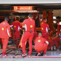 """Pech voor Vettel in Q3: """"Niemand kon hier wat aan doen"""""""