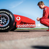 VIDEO: Schumacher drives father's exact title-winning Ferrari F2002