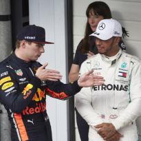 """Hamilton maakt zich op voor titelstrijd met Verstappen: """"Honda is erg sterk"""""""