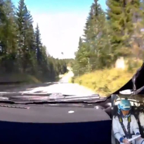 VIDEO: Bottas wasn't holding back during rally trip!