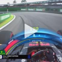 VIDEO: Verstappen blasts past Bottas!