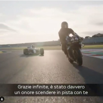 Hamilton confirms spill in Rossi ride swap
