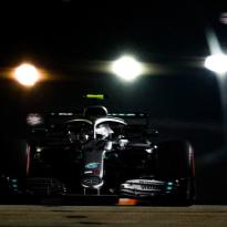 Hamilton spoiled Bottas Singapore qualifying lap - 'It won't happen again'
