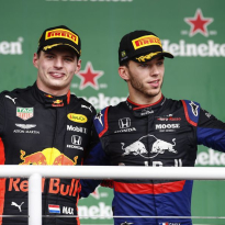 Verstappen: Gasly showed his strength in Brazil