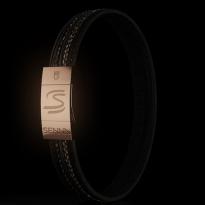 Senna Donington tyre tranformed into bracelets