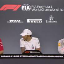 VIDEO: Vettel gives Hamilton and Verstappen advice on 'baby-making'