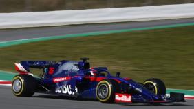 Race wagen Toro Rosso