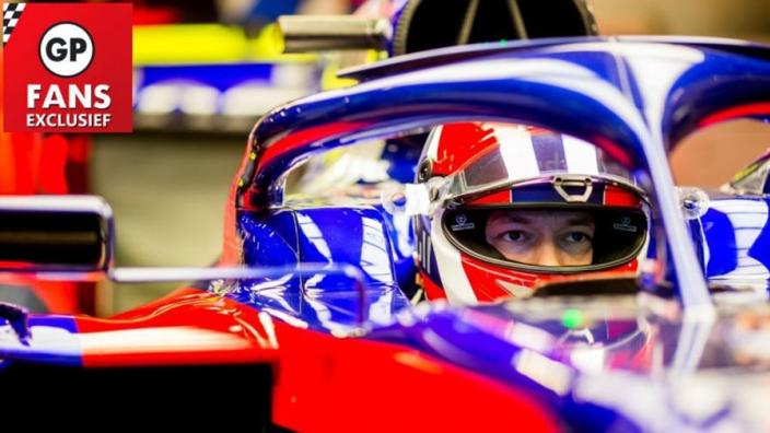 Exclusief: Kvyat was 'een beetje angstig' voor zijn rentree in F1-auto