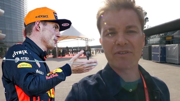 Rosberg: 'Boze Max Verstappen heeft het verpest'