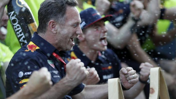 Horner hails 'unbelievable' Verstappen performance at German GP