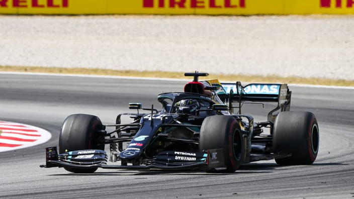 Lewis Hamilton: I was so zoned in, I didn't realise the race was over