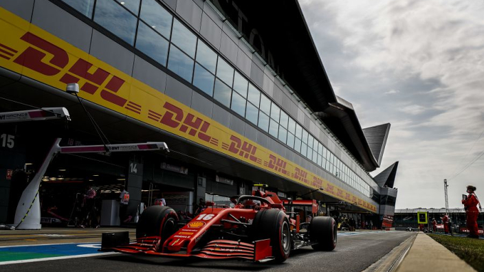 Another difficult day for Ferrari at Silverstone qualifying