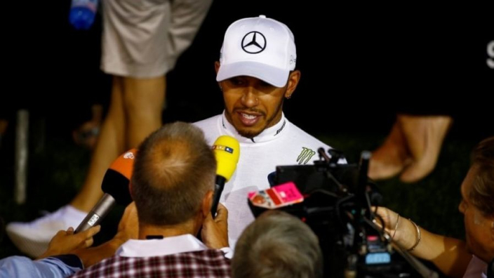 Hamilton: Dutch GP might not be good for overtaking