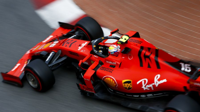 Leclerc retires from miserable Monaco GP