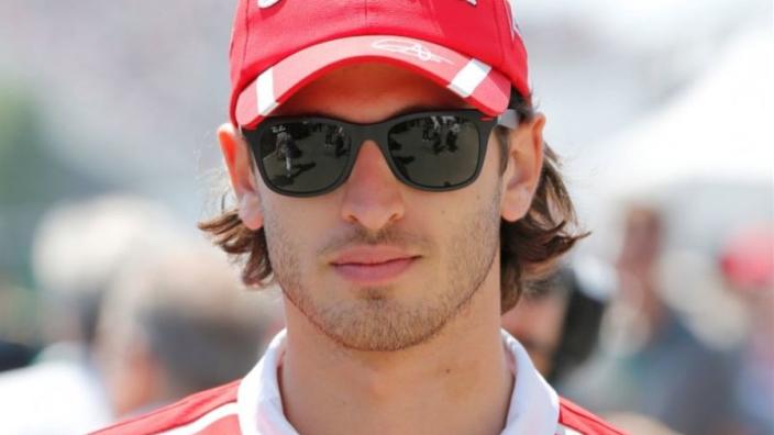 Antonio Giovinazzi: 'Ik zal alles geven om in de Formule 1 te komen'