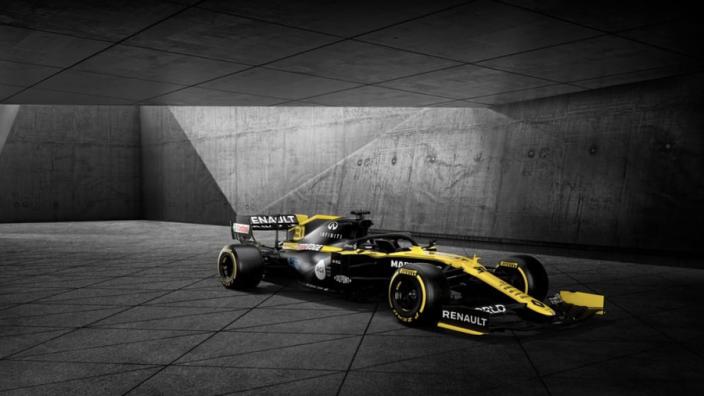 Renault onthult nieuwe livery, titelpartner en nieuwe officiële naam