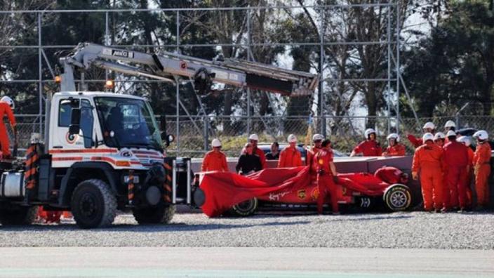 VIDEO: Vettel crash footage emerges
