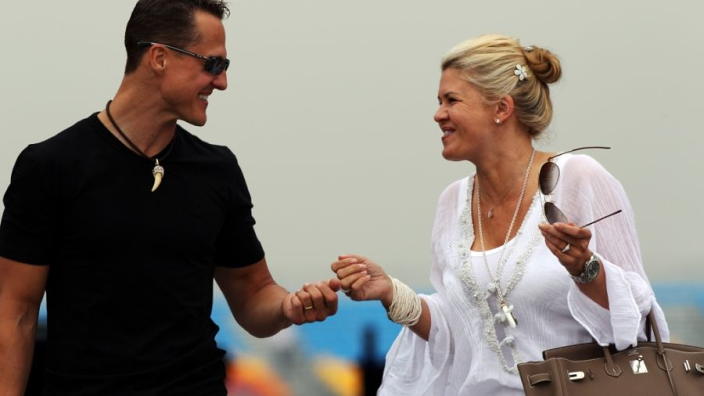 """Michael Schumacher """"shows how strong he is every day"""" - wife Corinna"""