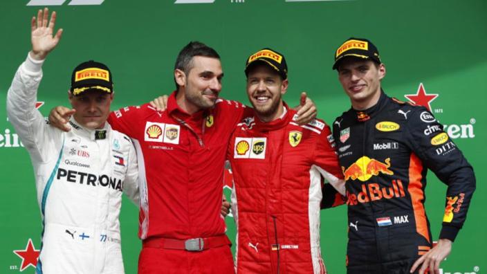 Rosberg: 'Verstappen had iets weg van Hamilton zijn attitude'
