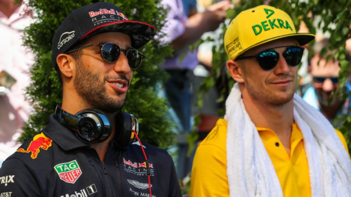 Nico Hülkenberg: 'Heb gehuild toen ik hoorde van Ricciardo's komst'