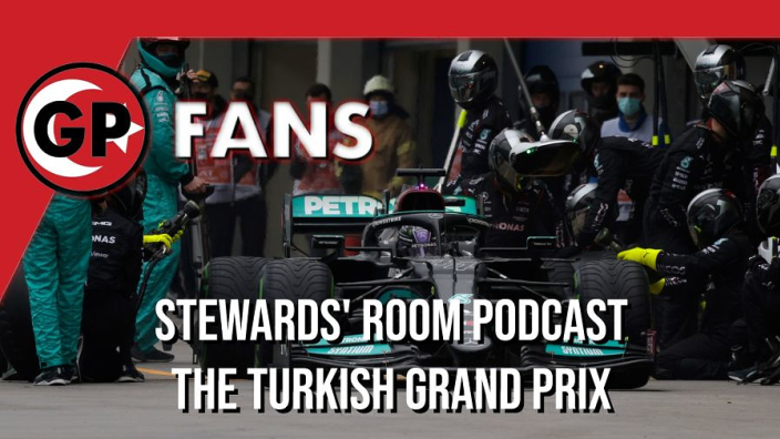 Was Hamilton to blame for Mercedes strategy woe? - GPFans Stewards' Room Podcast
