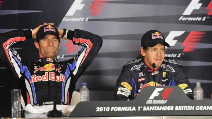 Webber names F1's top two drivers - did Vettel make the cut?