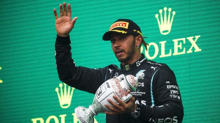 Hamilton voelt zich niet goed na Grand Prix Hongarije, geeft update over situatie