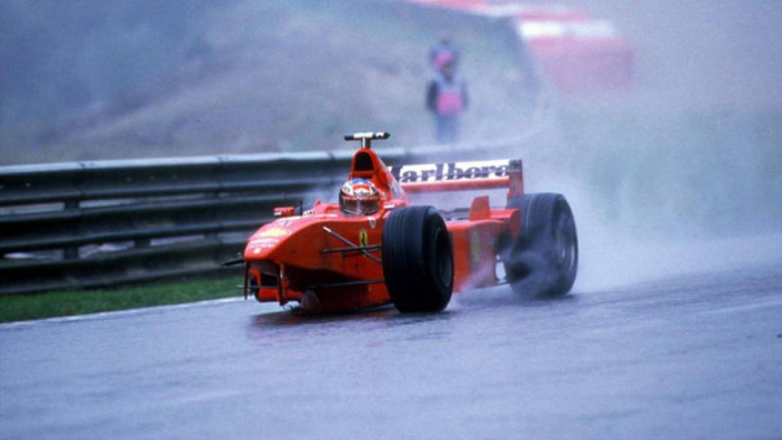 What Schumacher told Coulthard after Belgium 1998 crash